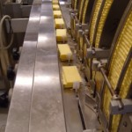 Crackers portioning system